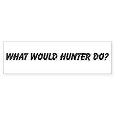 WWHD? Bumper Bumper Sticker