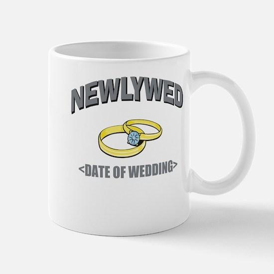 Newlywed (Add Date of Wedding) Mug