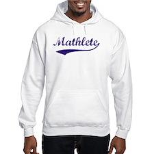 Vintage Mathlete 6 Hoodie