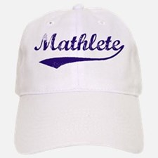 Vintage Mathlete 6 Baseball Baseball Cap