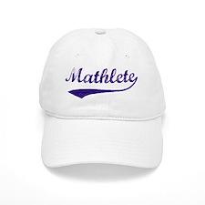 Vintage Mathlete 6 Baseball Cap