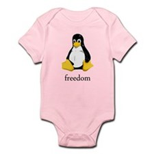 Cool Be linux Infant Bodysuit