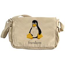 Cute Linux Messenger Bag