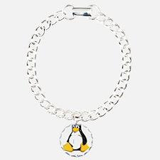 Cute Tux linux Bracelet