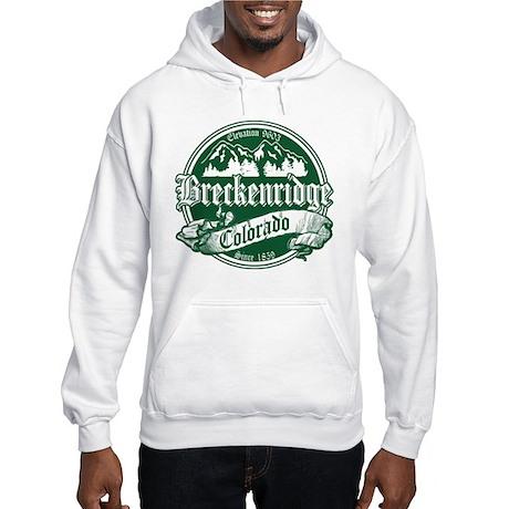 Breckenridge Old Green Hooded Sweatshirt