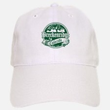 Breckenridge Old Green Baseball Baseball Cap