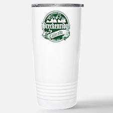 Breckenridge Old Green Stainless Steel Travel Mug