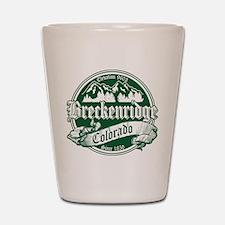 Breckenridge Old Green Shot Glass