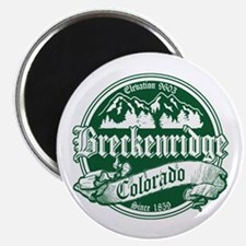 Breckenridge Old Green Magnet