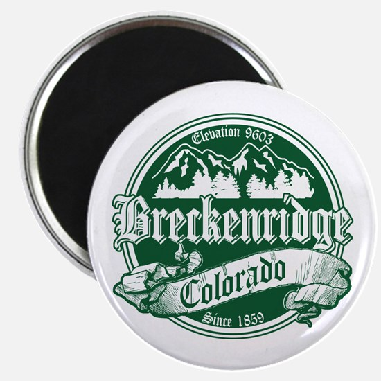 Breckenridge Old Green Magnet