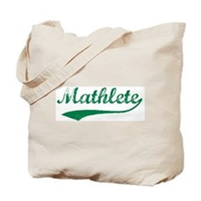 Vintage Mathlete 5  Tote Bag