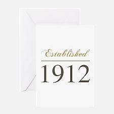Established 1912 Greeting Card