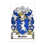 Shaffer Coat of Arms Mini Poster Print