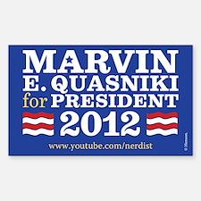 Marvin Quasniki Decal