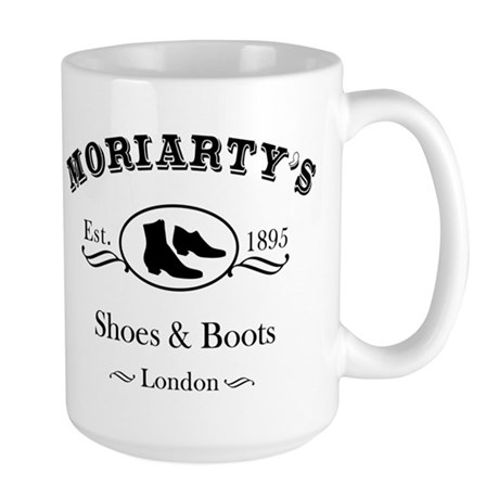 Moriarty's Shoe Shop Large Mug