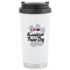 Karelian Bear Dog Travel Mug