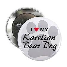 "Karelian Bear Dog 2.25"" Button"