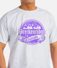 Breckenridge Old Violet T-Shirt