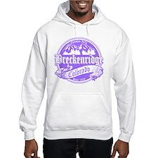 Breckenridge Old Violet Hoodie
