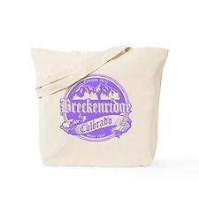 Breckenridge Old Violet Tote Bag