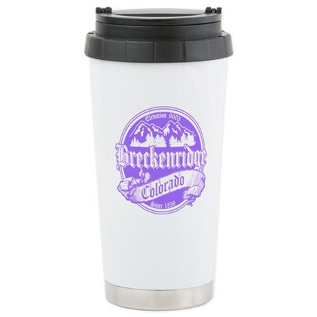 Breckenridge Old Violet Stainless Steel Travel Mug