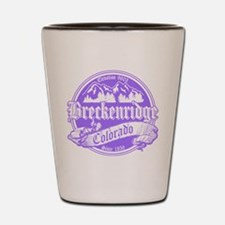 Breckenridge Old Violet Shot Glass