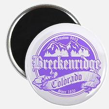 Breckenridge Old Violet Magnet