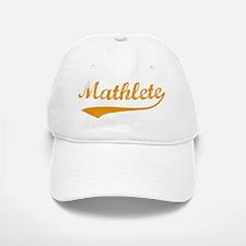Vintage Mathlete 3 Baseball Baseball Cap