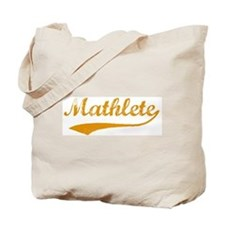 Vintage Mathlete 3  Tote Bag