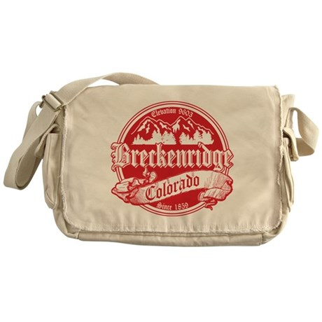 Breckenridge Old Red Messenger Bag