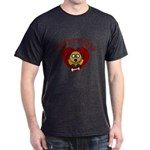 Heartthrob - Valentine's Puppy Love Dark T-Shirt