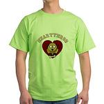 Heartthrob - Valentine's Puppy Love Green T-Shirt