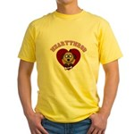 Heartthrob - Valentine's Puppy Love Yellow T-Shirt
