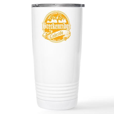 Breckenridge Old Gold Stainless Steel Travel Mug