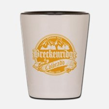 Breckenridge Old Gold Shot Glass