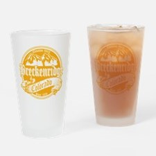 Breckenridge Old Gold Drinking Glass
