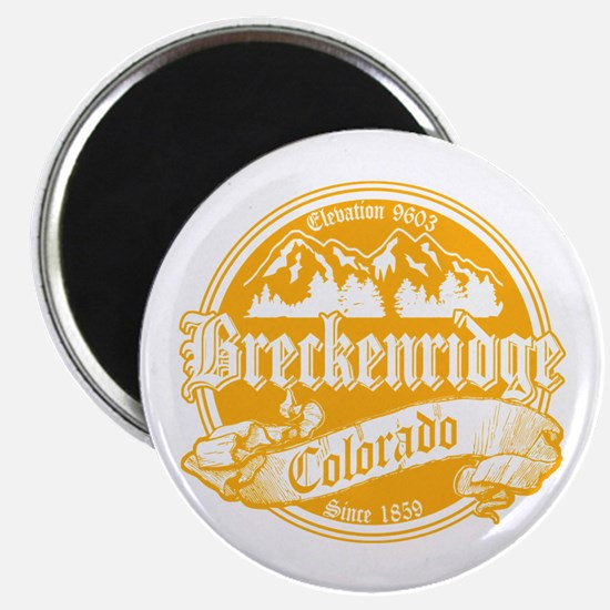 Breckenridge Old Gold Magnet