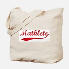 Vintage Mathlete 2  Tote Bag