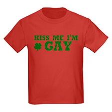 Kiss Me I'm Gay T