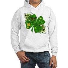 Lucky 4 Leaf Clover Irish Hoodie