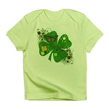 Lucky 4 Leaf Clover Irish Infant T-Shirt