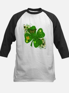 Lucky 4 Leaf Clover Irish Tee