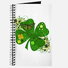 Lucky 4 Leaf Clover Irish Journal