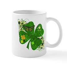 Lucky 4 Leaf Clover Irish Small Mug