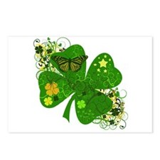 Lucky 4 Leaf Clover Irish Postcards (Package of 8)