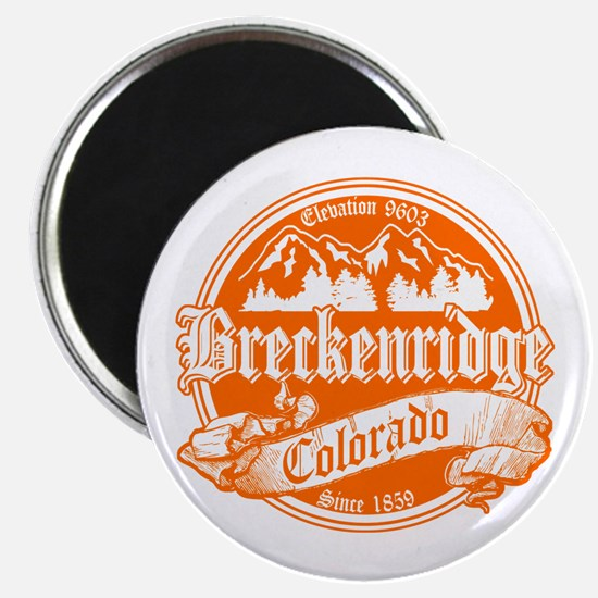Breckenridge Old Orange Magnet
