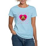 Puppy Love Valentine's Women's Light T-Shirt
