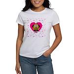 Puppy Love Valentine's Women's T-Shirt
