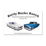 RBR Restorations Car Magnet 20 x 12