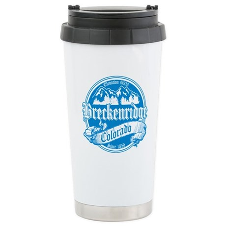 Breckenridge Old Orange Stainless Steel Travel Mug